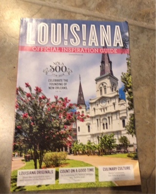 Louisiana official inspiration guide