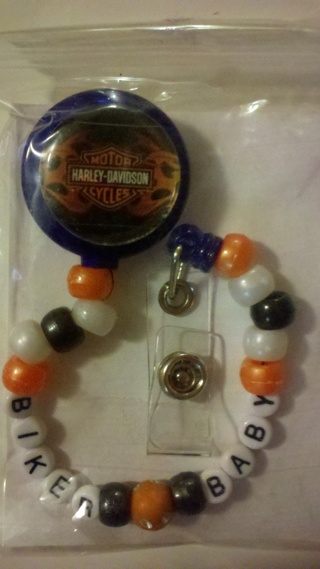 483eeb0f8a29 Free: Harley Davidson Biker Baby Pacifier Holder - Other Baby Items ...