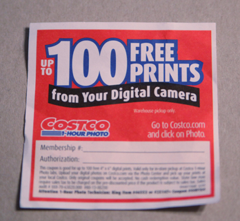 Free Costco 100 Free 4x6 Prints Coupon Other Cameras Items