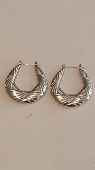 Vintage sterling silver earrings Very Nice