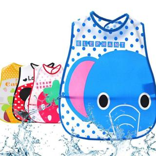 ideacherry Cartoon Baby Bibs Waterproof Newborn Bandanas Feeding for Baby Burp Cloths Girls Boys S