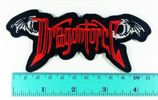 Dragon Force Band logo Heavy Metal Rock Jacket Shirt Patch Iron on Symbol Badge Sign Music patch