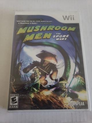 Mushroom Men Wii Game