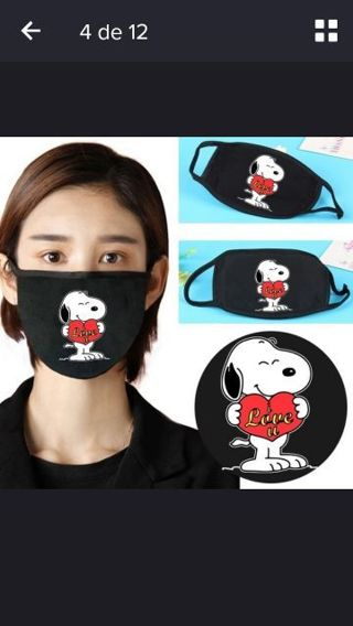 SNOOPY 1Pcs Clinical Face Mask Anti-Bacteria Healthy