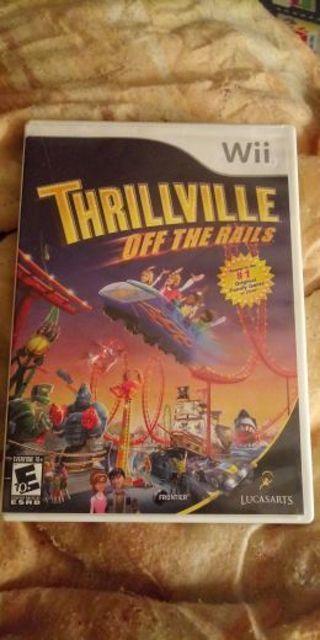 Thrillville nintendo wii game