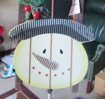 Santa Sled Ornament