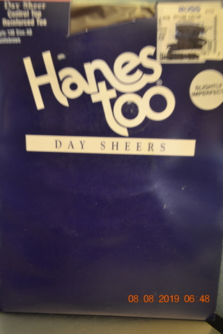 ****NIP HANES TOO DAY SHEERS PANTYHOSE (SLIGHTLY IMPERFECT)***FREE SHIPPING