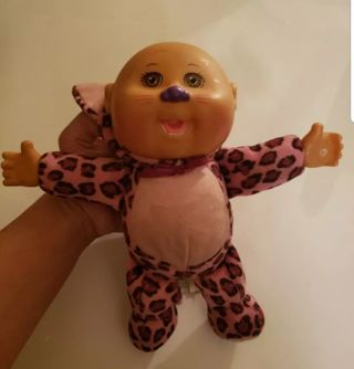 Cabbage patch kids doll Purple Leopard #D