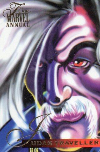 1995 Marvel Comic Trade Card: Judas Traveler