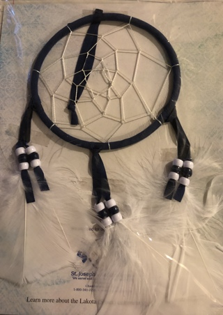 BNIP Beautiful Dreamcatcher Of PEACE & HOPE For You and Your Household!