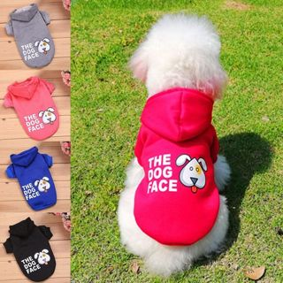 Small Medium Dog Pet Clothes The Dog Face Coat