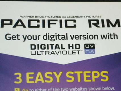 free pacific rim digital hd ultraviolet code vudu other dvds movies. Black Bedroom Furniture Sets. Home Design Ideas