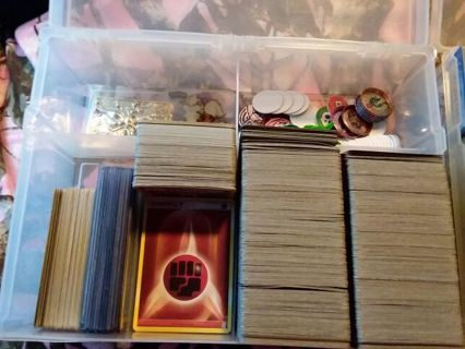 Huge Pokemon card lot with a few extras.