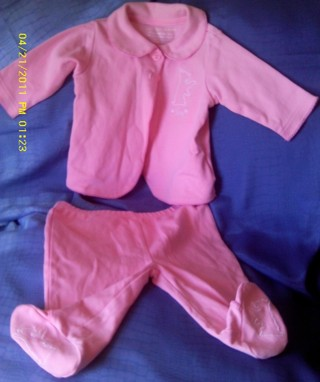 Free  0-3 MONTHS BABY JUICY COUTURE 2PC PINK OUTFIT - Baby Clothes ... 35684fae4