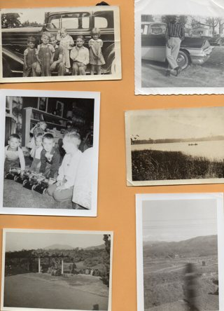 Lot of 8 Vintage Black & White Photos as shown Lot # 16