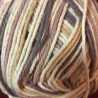 12 Oz 100% 4 ply Multi Color Cotton Yarn .
