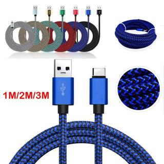USB-C Type-C Fast Charging Data Sync Charger Cable Fr Samsung Galaxy S8 S9 Plus