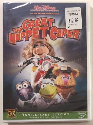 Disney The Great Muppet Caper - Kermit's 50th Anniversary Edition (1981) DVD Movie - New Sealed!