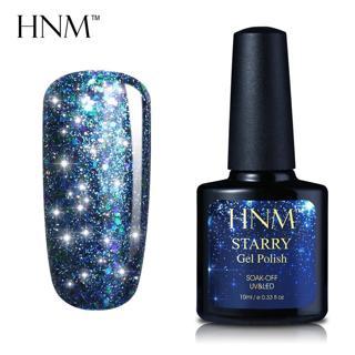 HNM 10ML Starry Bling Nail Polish Varnish Semi Permanent Lacquer Gelpolish 30 Colors Starry Bling