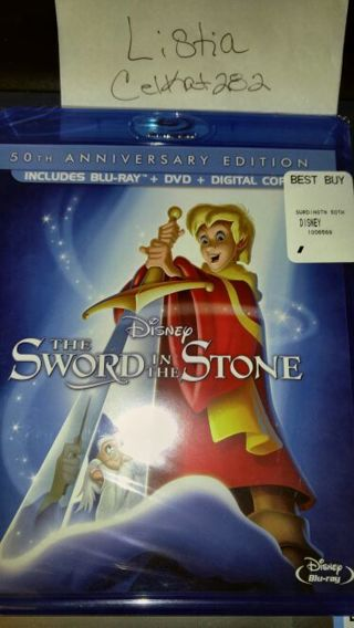 Disney The Sword in The Stone**Digital Copy Only**