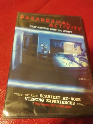 Paranormal Activity Dvd Factory Sealed