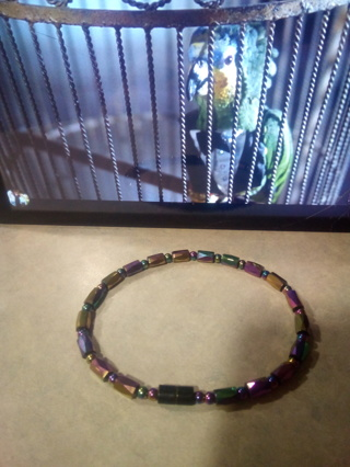 Magnetic Hematites Stone XL Rainbow Bracelet √√√GIN BONUS√√√