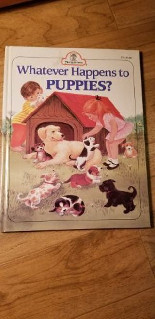 What happens to puppies book