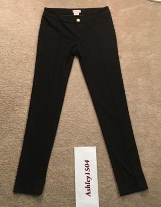 WOMEN'S BLACK PANTS SIZE 8
