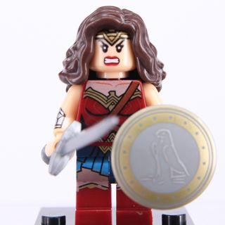 New Wonder Woman Minifigure Building Toy Custom Lego