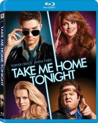 2014 Take Me Home Tonight Blu-ray Rated R Movie-New & Sealed