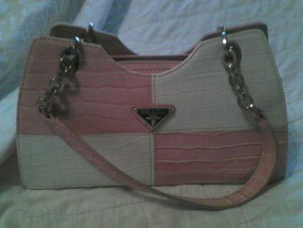 Free: Pink & White Prada Purse - Handbags - Listia.com Auctions ...