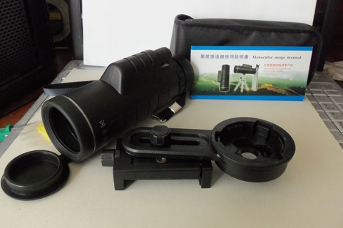 new  universal waterproof clip tele-scope camera lens for your I-phone