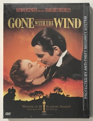 Gone With the Wind DVD Movie in Snap Case (1939) Clark Gable / Vivien Leigh - New Factory Sealed!