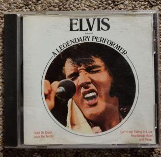Elvis CD. A Legandary Performer. Vol.1