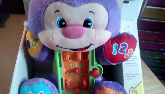 Fisher Price Apptivity  Monkey: New
