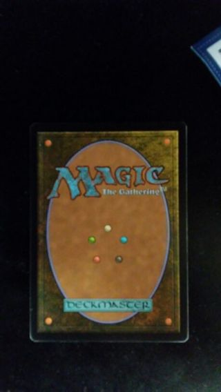 Mystery magic the gathering card