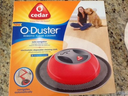O Cedar O Duster Robotic  Floor Cleaner - BrAnD NeW!!