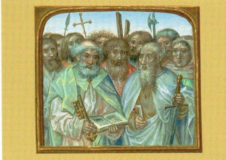 1997 Art Treasures of the Vatican Library Trade Card: Galatians
