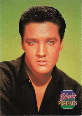 """1992 The River Group Elvis Presley """"The Elvis Collection: Portraits"""" Card #353"""