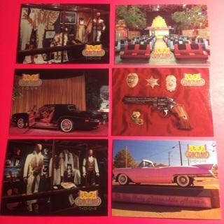 6 Elvis' Graceland 1992 Cards!