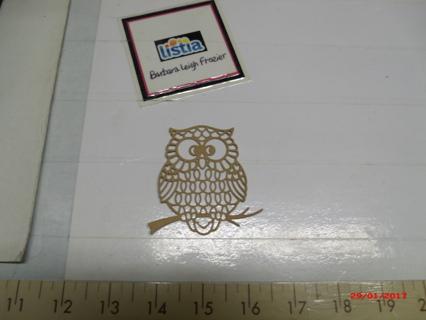 Large Diecut Owl!
