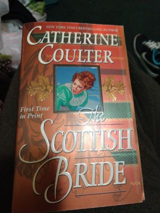 The Scottish Bride by Catherine Coulter (paperback)