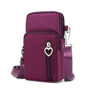 Bag Mini Nylon Crossody Cell Phone Cash Messenger Shoulder Bag Strap Wallet Pouch  Purse Waterproof