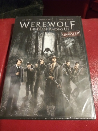 Werewolf the Beast Among Us Factory sealed