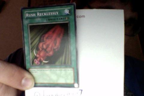 Yu-GiUh! Card Rush Recklessly (Magic Card)