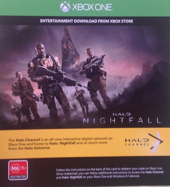Free Halo Nightfall Code Xbox One Video Game Prepaid Cards Codes Listia Com Auctions For Free Stuff