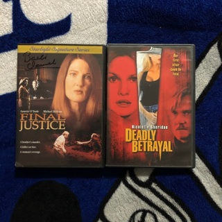 Final Justice / Deadly Betrayal (DVDs)