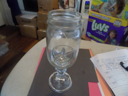handmade Country style fancy crystal goblet # 4