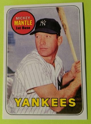 1969 MICKEY MANTLE