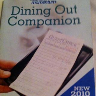 Weight Watchers Dining Companion